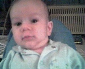 Baby Jonah...Looking right at me.