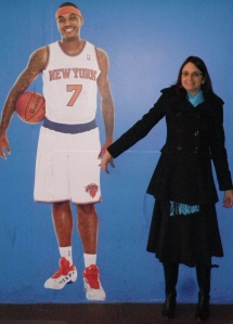Carmelo Anthony and me