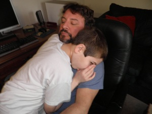 nothing beats a little daddy love
