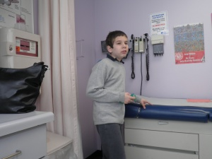 October:  visit to the juvenile arthritis doc - everything looks great!